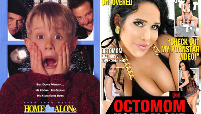 Octomom home alone (2012)