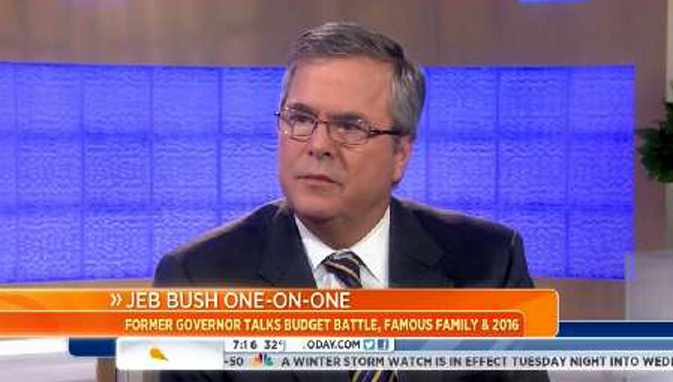 "Jeb Bush Wants U.S. Ground Troops In Syria: ""It Worked Very Well In Iraq"" - Newslo"